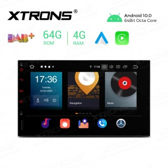 7 inch Android 10.0 Octa-Core 64G ROM + 4G RAM Car Stereo Multimedia GPS System