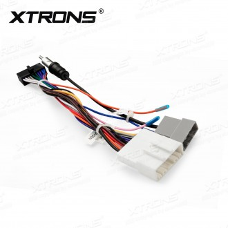 ISO Wiring Harness cable for Installation of XTRONS TD799DAB,TD799G,TD623,TD623DAB in Nissan Cars