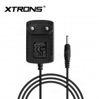EU 2 Pin Power Supply AC/DC Adapter for XTRONS Headrest Products