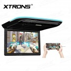 11.6 inch HD Digital TFT 1366*768 Screen Ultra-thin Roof Mounted Player with Built-in Speakers & 2pcs headphones