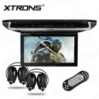 10 inch HD Digital TFT Monitor Touch Panel Car Roof DVD Player