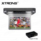 "13.3"" 1080P Video HD Digital TFT Monitor Wide Screen Car Roof Player with HDMI Port"