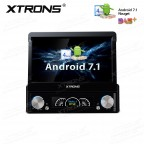 """7"""" HD Digital Detachable Multi-touch Screen Android 7.1 Nougat 1080P video Single Din Car DVD player with DAB+ & OBD02"""