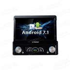 "7"" HD Digital Detachable Multi-touch Screen Android 7.1 Nougat 1080P video Single Din Car DVD player"