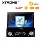 """7"""" Android 8.1 Octa-Core Built-in DSP Universal Single DIN DVD Navigation System"""