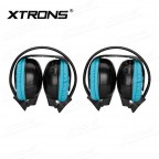 DWH003S IR Wireless / Cordless Dual Channels Infrared Headphones