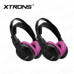 DWH004S IR Wireless / Cordless Dual Channels Infrared Headphones