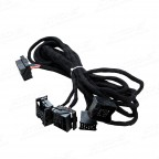 Extra Long 6 Meters ISO Wiring Harness for BMW Suitable for Head Unit with Quadlock Connection