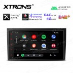 8 inch Android 10.0 Octa-Core 64G ROM + 4G RAM Plug & Play Design Car Stereo Multimedia GPS System for Audi