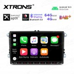 9 inch Android 10.0 Octa-Core 64G ROM + 4G RAM Plug & Play Design Car Stereo Multimedia GPS System for VW/SKODA/SEAT