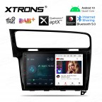 10.1 inch Android 10.0 Plug-and-Play Design Car Stereo Multimedia Navigation System Custom Fit for Volkswagen Golf 7 Left Hand Vehicles