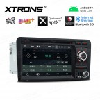 """7"""" Android 10.0 car stereo Multimedia Navigation system with DVD player plug-and-play design Custom Fit for A3 