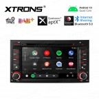 """7"""" Android 10.0 Navigation system Car DVD player with plug-and-play design Custom Fit for SEAT"""