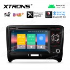 """7"""" Android 10.0 Navigation system Car DVD player with plug-and-play design Custom Fit for Audi TT"""