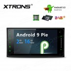 "7"" Android 9 Pie Plug-and-Play Design Car Stereo Smart Multimedia Player Custom fit for Toyota"