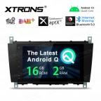 8 inch Android 10.0 car stereo Multimedia Navigation system plug-and-play design Custom Fit for Mercedes-Benz