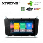 """8"""" Android 9.0 car stereo Multimedia Navigation system plug-and-play design Custom Fit for Mercedes-Bens"""