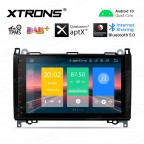 9 inch Android 10.0 Plug-and-Play Design Car Stereo Multimedia Navigation System Custom Fit for Mercedes-Benz