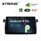 "9"" Android 9.0 car stereo Multimedia Navigation system plug-and-play design Custom Fit for BMW 