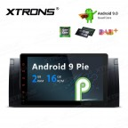 "9"" Android 9.0 car stereo Multimedia Navigation system plug-and-play design Custom Fit for BMW"
