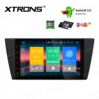 """9"""" Android 9.0 car stereo Multimedia Navigation system plug-and-play design Custom Fit for BMW"""