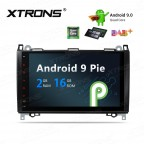 "9"" Android 9.0 car stereo Multimedia Navigation system plug-and-play design Custom Fit for Mercedes-Bens"