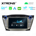 Integrated 4G Solution For HYUNDAI: 7 inch Octa-Core Android Multimedia Player Navigation System With Built-in CarPlay and Android Auto and DSP