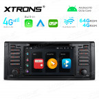 Integrated 4G Solution: 7 inch Android Multimedia Player Navigation System With Built-in CarAutoPlay and Android Auto and DSP For BMW E39
