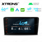 Integrated 4G Solution: 8 inch Octa-Core Android Multimedia Player Navigation System With Built-in CarAutoPlay and Android Auto and DSP For Audi A3