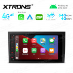 Integrated 4G Solution: 8 inch Android Multimedia Player Navigation System With Built-in CarAutoPlay and Android Auto and DSP For AUDI / SEAT