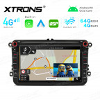 Integrated 4G Solution: 8 inch Octa-Core Android Multimedia Player Navigation System With Built-in CarAutoPlay and Android Auto and DSP For VW/Skoda/SEAT