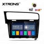 """10.1"""" Android 8.1 Quad Core 16GB ROM + 2G RAM car stereo multimedia navigation system with Full RCA Output Costom Fit for VW Golf 7"""