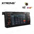 """7""""Android 8.1 Quad Core 16GB ROM + 2G RAM car stereo multimedia navigation system with Full RCA Output Costom Fit for BMW"""