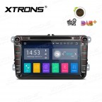 """8""""Android 8.1 Quad Core 16GB ROM + 2G RAM car stereo multimedia navigation system with Full RCA Output Costom Fit for Volkswagen/seat/skoda"""