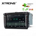 """8"""" Android 9.0 car stereo infotainment system for VW with DVD Player Support car auto play with Full RCA Output"""