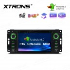 "6.2"" Android 9.0 Octa-Core 32GB ROM + 4G RAM Multimedia DVD Player Custom fit for JEEP / DODGE / Chrysler"