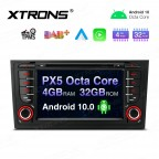"""7"""" Android 10.0 Octa-Core 32GB ROM + 4G RAM Car Multimedia DVD Player with GPS Support CarAutoPlay Custom fit for Audi"""