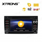 """7"""" Android 8.0 Octa-Core 32GB ROM + 4G RAM Support car auto play Multimedia DVD Player Custom fit for Porsche Cayenne"""