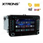 "7"" Android 8.0 Octa-Core 32GB ROM + 4G RAM Multimedia DVD Player Custom fit for Volkswagen / SEAT / SKODA"