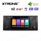 "7"" Android 9.0 Octa-Core 32GB ROM + 4G RAM Multimedia DVD Player support car auto play Custom fit for BMW"
