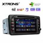 7 inch Android 9.0 Octa-Core 32GB ROM + 4G RAM Multimedia DVD Player support car auto play Custom fit for Mercedes-Benz