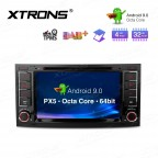 """7"""" Android 9.0 Octa-Core 32GB ROM + 4G RAM Car Multimedia DVD Player with GPS support car auto play Custom Fit for Volkswagen"""