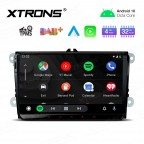 """9"""" Android 10.0 Octa-Core 32GB ROM + 4G RAM Car Stereo Multimedia GPS System Support CarAutoPlay Custom fit for VW/SKODA/SEAT"""