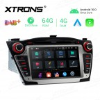 7 inch Android 10.0 Octa-Core 64G ROM + 4G RAM Car Multimedia GPS DVD Player Custom fit for Hyundai