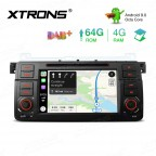 7 inch Android 9.0 Octa-Core 64G ROM + 4G RAM Car DVD Player Multimedia GPS System support CarAutoPlay Custom fit for BMW