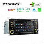 7 inch Android 9.0 Octa-Core 64G ROM + 4G RAM Car DVD Player Multimedia GPS System Custom fit for Audi