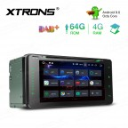 6.95 inch Android 9.0 Octa-Core 64G ROM+4G RAM Car DVD Player Multimedia GPS System Custom fit for Toyota