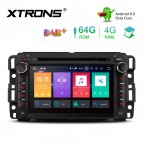 7 inch Android 9.0 Octa-Core 64G ROM + 4G RAM Car DVD Player Multimedia  GPS System Support CarAutoPlay Custom fit for Chevrolet / Buick / GMC / HUMMER