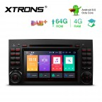 7 inch Android 9.0 Octa-Core 64GB ROM + 4G RAM Multimedia DVD Player with GPS support car auto play Custom fit for Mercedes-Benz
