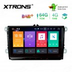 9 inch Android 9.0 Octa-Core 64G ROM+4G RAM Car Stereo Multimedia GPS System Custom Fit for Volkswagen | Skoda | Seat